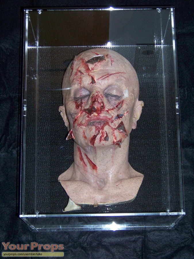 Mirrors original make-up   prosthetics