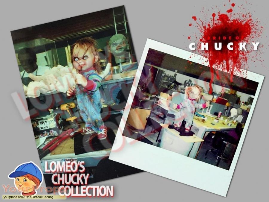 Bride of Chucky original production material
