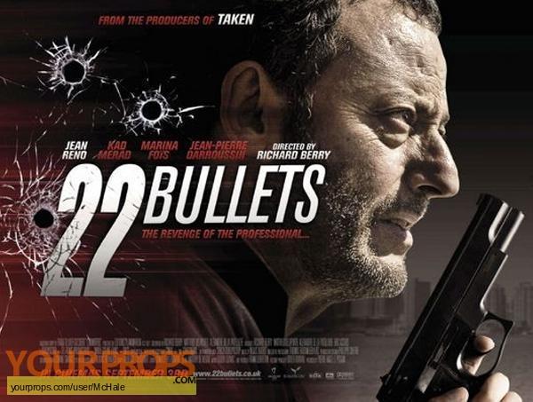 22 Bullets replica movie prop
