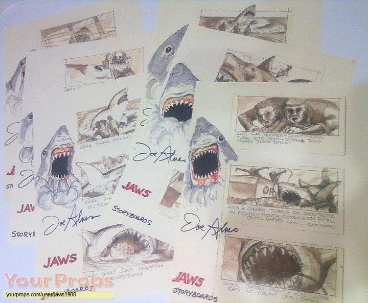 Jaws replica production artwork