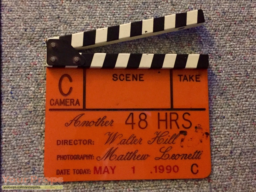 Another 48 Hours original film-crew items