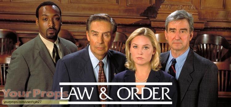Law   Order original movie prop