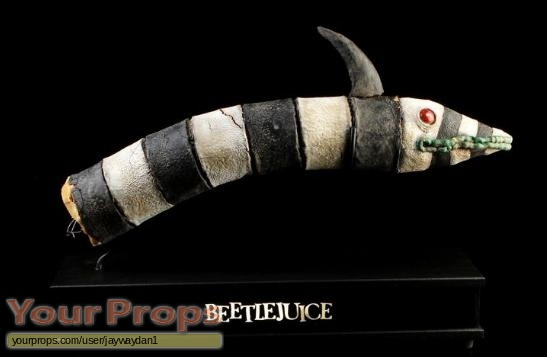 Beetlejuice original movie prop