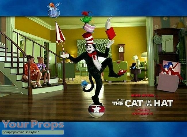 The Cat in the Hat original set dressing   pieces