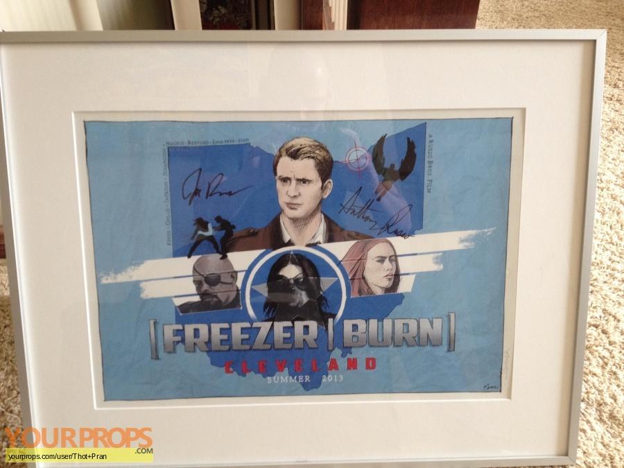 Captain America  The Winter Soldier original film-crew items