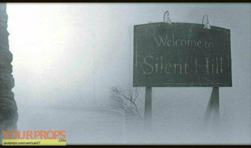Silent Hill original set dressing   pieces