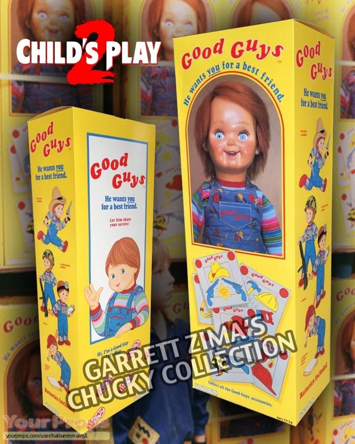 Childs Play 2 original movie prop