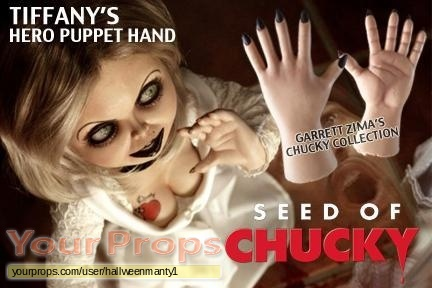 Seed of Chucky original movie prop