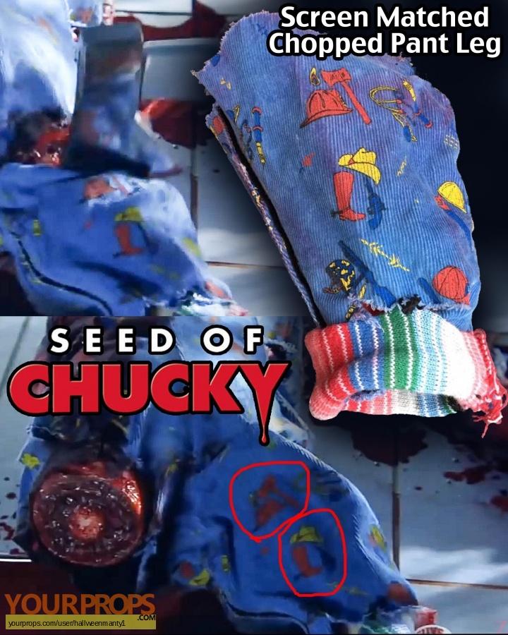 Seed of Chucky original movie prop