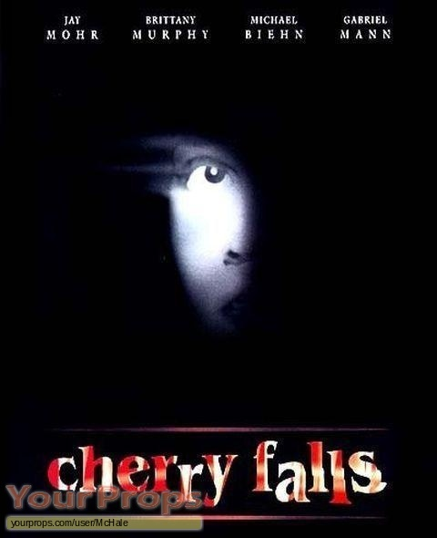 Cherry Falls replica movie prop