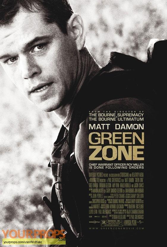 Green Zone replica movie prop