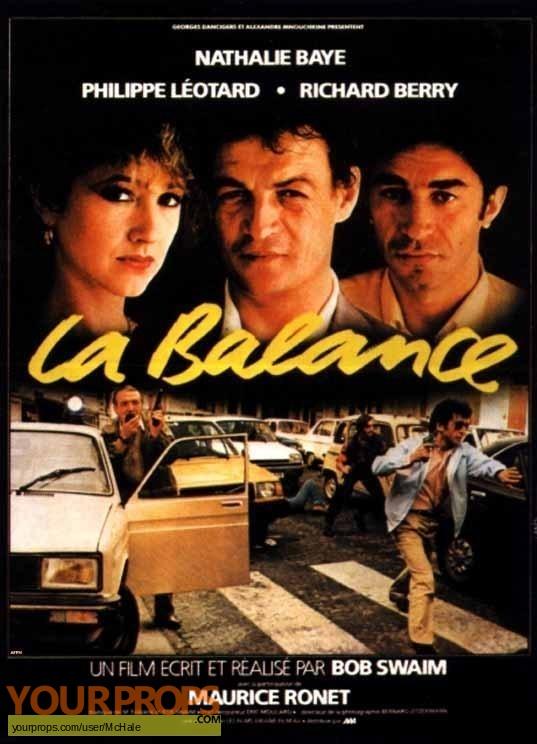 La Balance replica movie prop