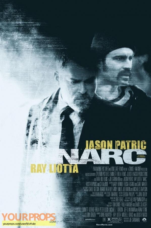 Narc replica movie prop