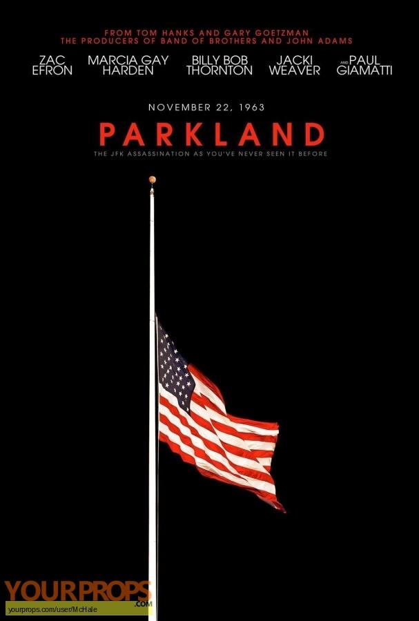 Parkland replica movie prop