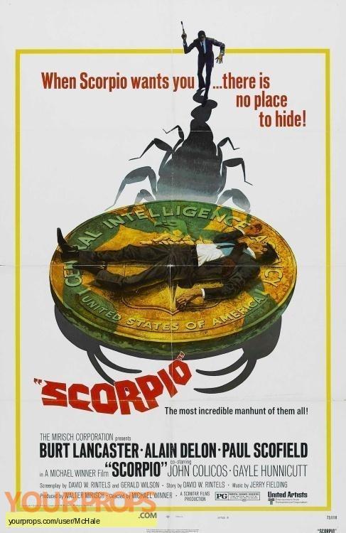 Scorpio replica movie prop