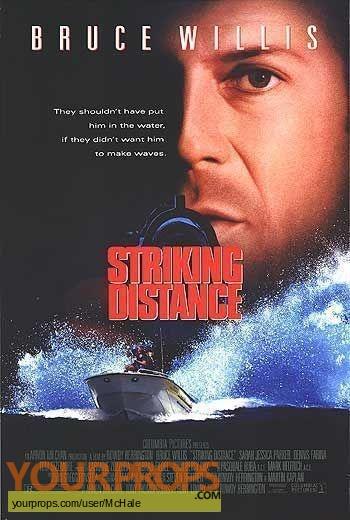 Striking Distance replica movie prop