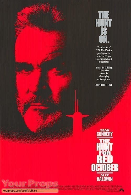 The Hunt For Red October replica movie prop