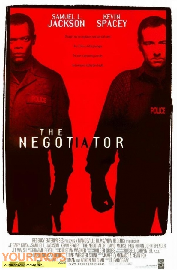 The Negotiator replica movie prop