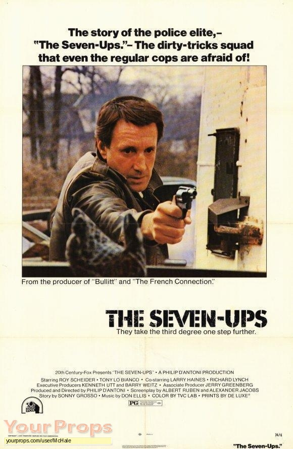 The Seven Ups replica movie prop