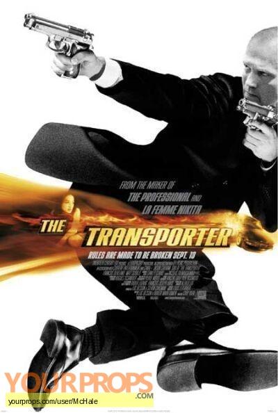 The Transporter replica movie prop