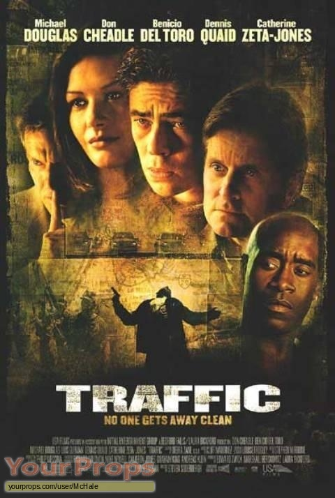 Traffic replica movie prop