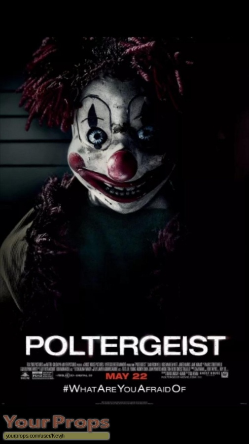 Poltergeist original movie prop