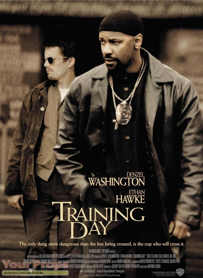 Training Day original movie prop