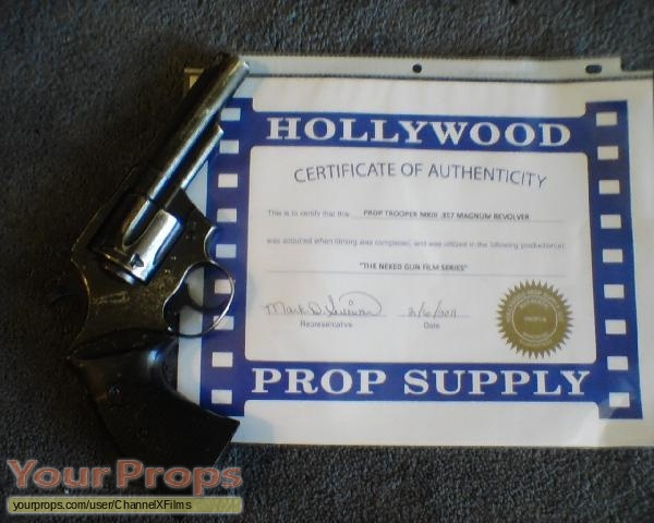 The Naked Gun  From the Files of Police Squad  original movie prop weapon