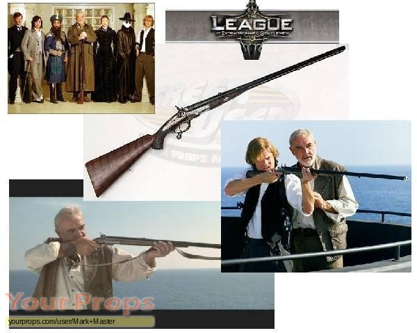 The League of Extraordinary Gentlemen original movie prop weapon
