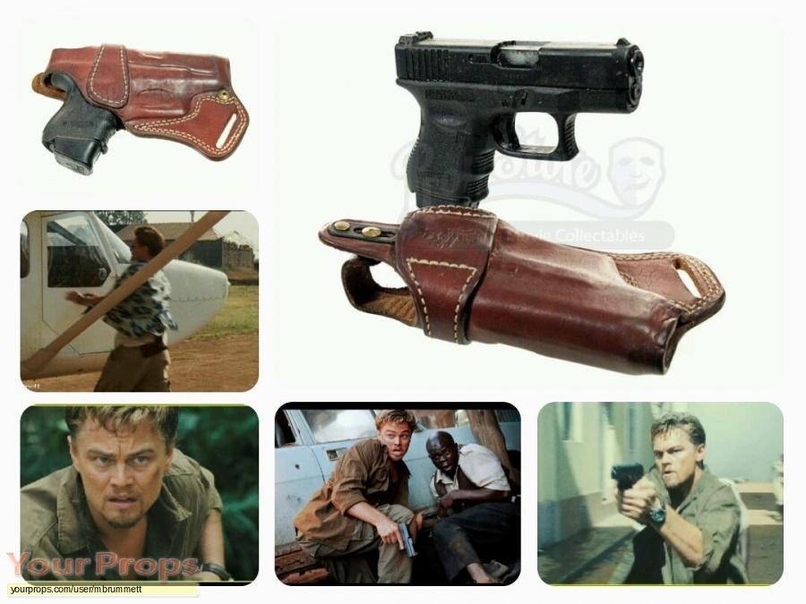 Blood Diamond original movie prop weapon
