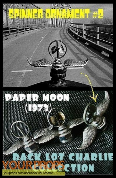 Paper Moon original movie prop