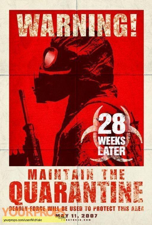 28 Weeks Later replica movie prop