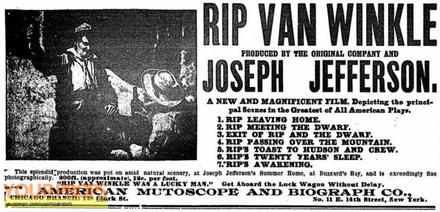 Rip Van Winkle original production artwork