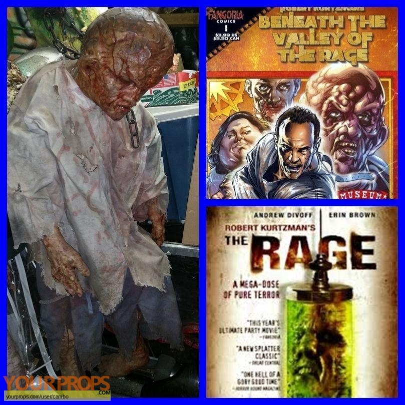 The Rage original movie prop