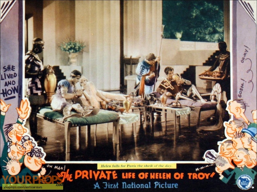 The Private Life Of Helen Of Troy original production material