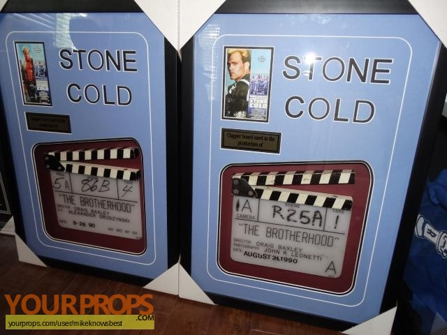 Stone Cold original production material