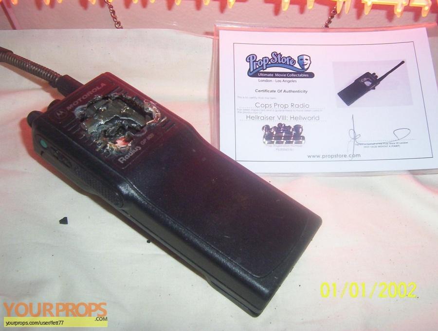 Hellraiser  Hellworld original movie prop