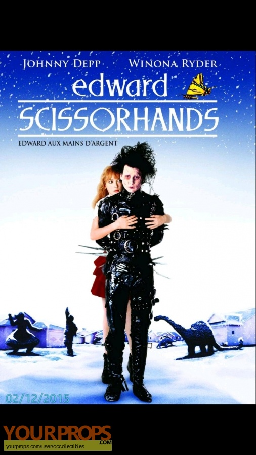 Edward Scissorhands original movie costume