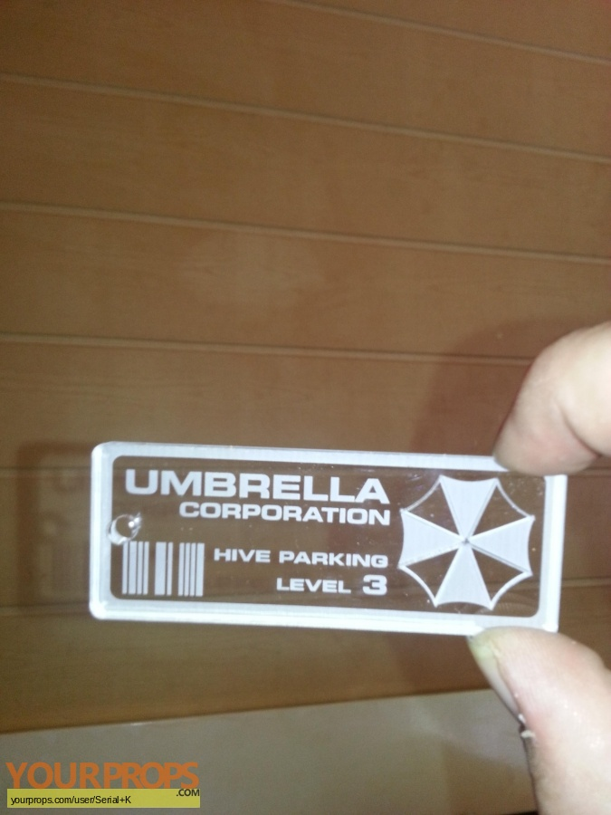Resident Evil replica movie prop