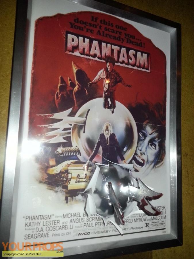 Phantasm replica production artwork