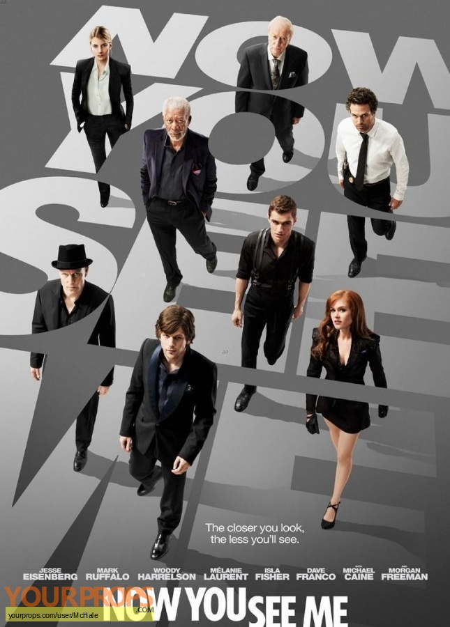 Now You See Me replica movie prop