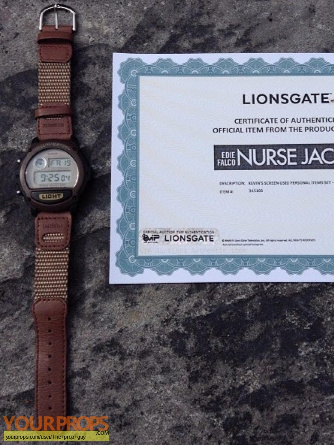 Nurse Jackie original movie prop