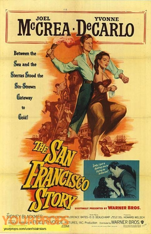 The San Francisco Story original production material