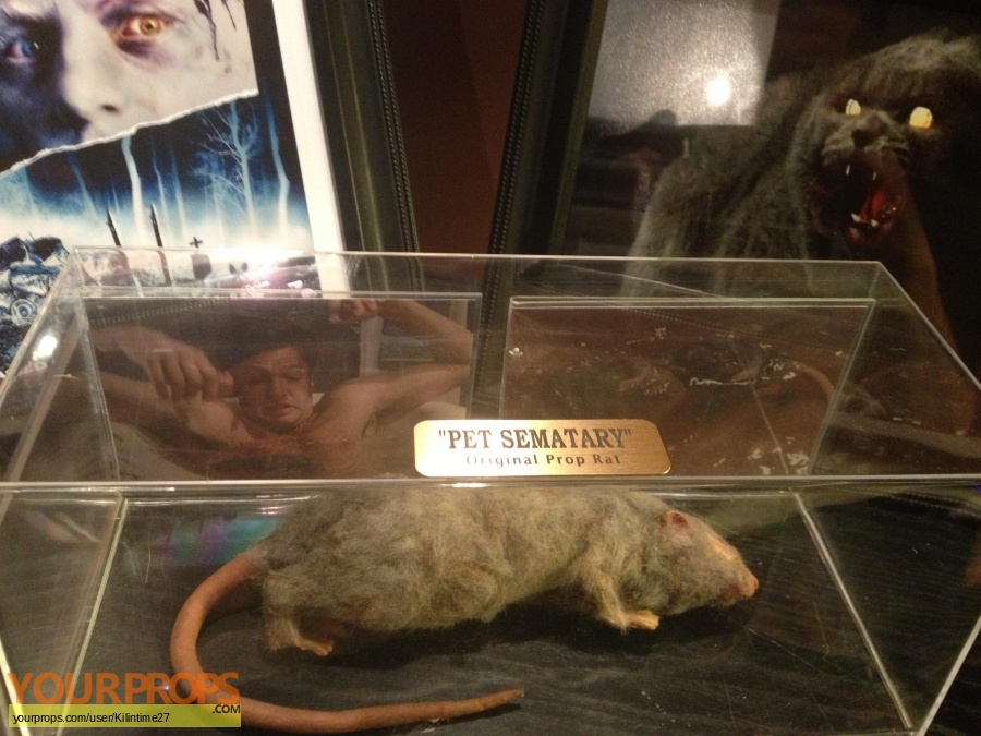 Pet Sematary original movie prop