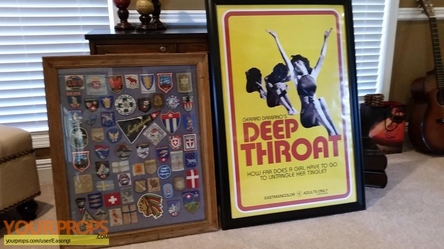 Deep Throat original set dressing   pieces