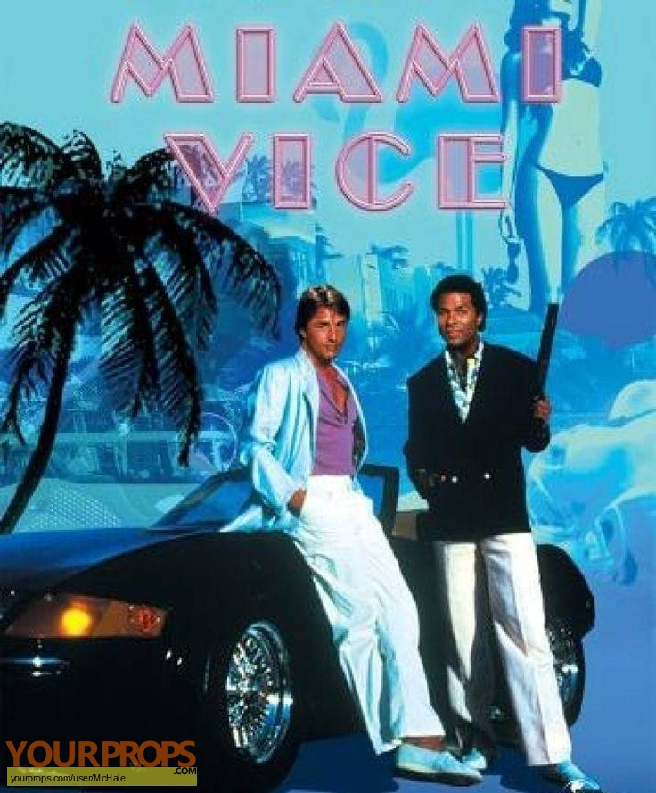Miami Vice original movie prop
