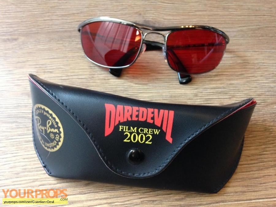 Daredevil original film-crew items
