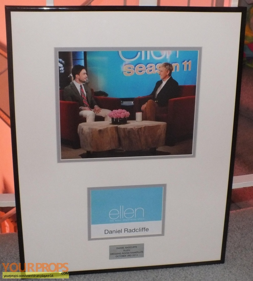 Ellen original production material