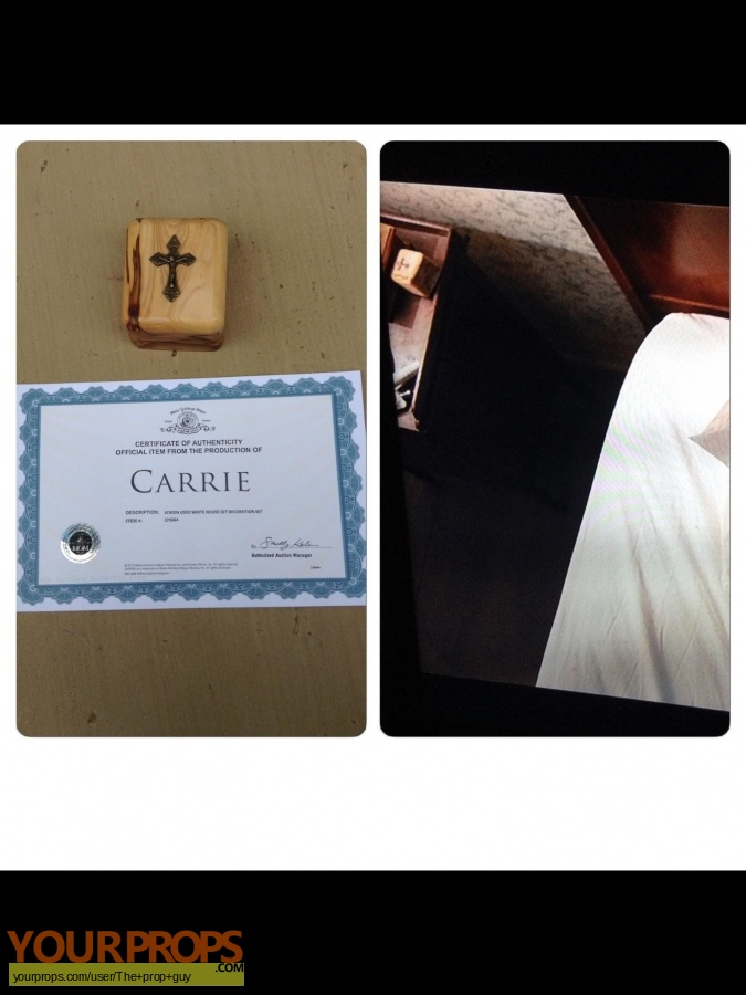 Carrie original movie prop
