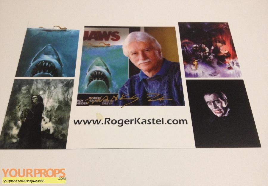 Jaws original production artwork